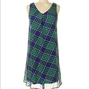 C Wonder • Green Plaid Dress